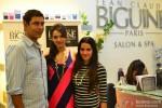 Dharmendra Manwani, Dipannita Sharma and Shruti Seth at Jean-Claude Biguine Salon & Spa launch