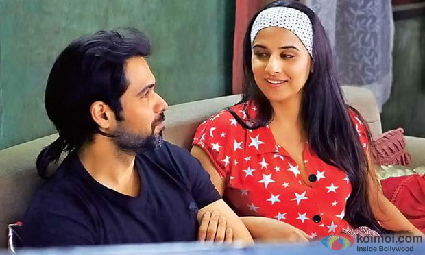 Emraan Hashmi and Vidya Balan in a still from Ghanchakkar Movie