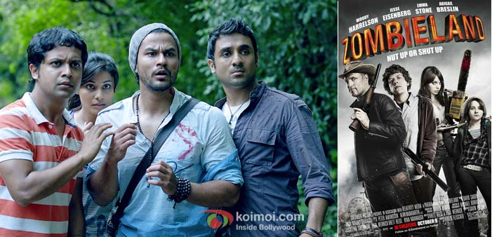 Go Goa Gone And Zombie Land Movie Poster And Stills