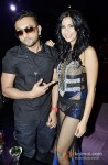 Honey Singh And Prachi Mishra on the sets of 'Zaalim Dilli'