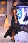 Hot Model walk the ramp at 'Rajasthan Fashion Week' 2013 Pic 2