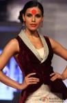 Hot Model walk the ramp at 'Rajasthan Fashion Week' 2013 Pic 4