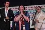 Hrithik Roshan, Pamela Chopra and Pratibha Patil attend Dadasaheb Phalke Academy Awards