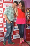 Chetna Pande and Ruslaan Mumtaz at 'I Don't Luv U' Movie Promotion in Patna Pic 2