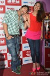 Chetna Pande and Ruslaan Mumtaz at 'I Don't Luv U' Movie Promotion in Patna Pic 3
