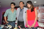 Chetna Pande and Ruslaan Mumtaz at 'I Don't Luv U' Movie Promotion in Patna Pic 4