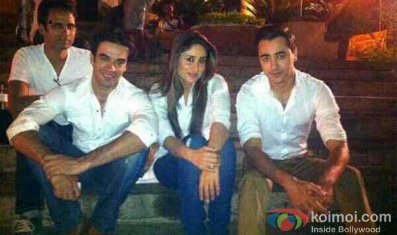 Imran Khan, Kareena Kapoor And Punit Malhotra