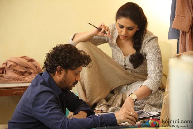 Irrfan Khan and Huma Qureshi in D Day Movie Stills   Koimoi