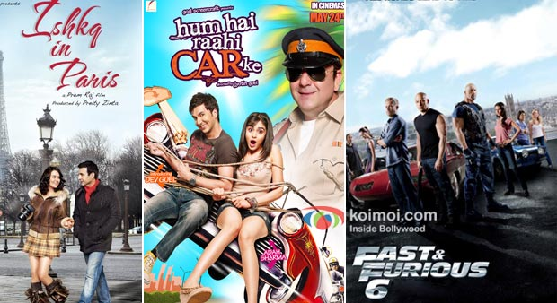Ishkq In Paris, Hum Hai Rahi Car Ke And Fast And Furious 6