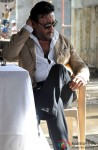 Jackie Shroff during Aurangzeb's Press Meet at a Construction Site