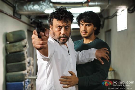 Jackie Shroff and Arjun Kapoor in Aurangezeb Movie Stills