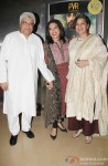 Javed Akhtar, Mira Nair and Shabana Azmi at the Premiere of 'The Reluctant Fundamentalist'