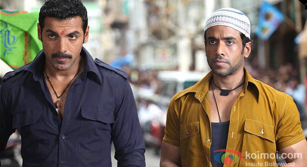 John Abraham And Tusshar Kapoor in Shootout At Wadala Movie Stills
