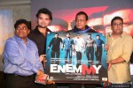 Johnny Lever, Mahaakshay Chakraborty, Mithun Chakraborty and Zakir Hussain at music launch of 'Enemmy'