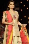 Juhi Chawla walks the ramp at Lakme Fashion Week Summer/Resort 2013