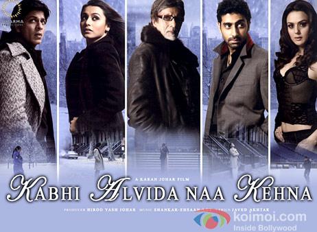 Kabhi Alvida Na Kehna Movie Poster