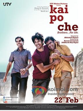 Kai Po Che Movie Poster