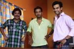 Manu Rishi, Aarya Kumar and Raj Kumar Yadav in Boyss Toh Boyss Hain Movie Stills
