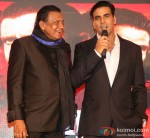 Mithun Chakraborty and Akshay Kumar at music launch of 'Enemmy'
