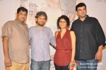 Mukesh Shah, Anand Gandhi, Kiran Rao and Siddharth Roy Kapur at 'Ship of Theseus' trailer launch Pic 2