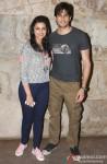 Parineeti Chopra and Sidharth Malhotra at Special Screening of 'Bombay Talkies'