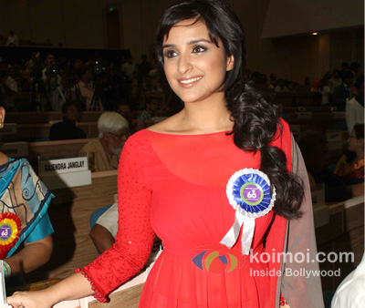 Parineeti Chopra at the 60th National Film Awards 2012