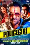 Prachi Desai, Sanjay Dutt and Prakash Raj in Policegiri Movie Poster