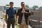 Prithviraj Sukumaran and Rishi Kapoor in Aurangzeb Movie Stills