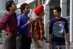 Raj Kumar Yadav, Aarya Kumar, Anshuman Jha and Dhruv Ganesh in Boyss Toh Boyss Hain Movie Stills Pic 1