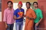 Raj Kumar Yadav, Anshuman Jha, Aarya Kumar and Dhruv Ganesh in Boyss Toh Boyss Hain Movie Stills