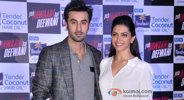 Ranbir Kapoor and Deepika Padukone team up to Promote Their upcoming Film Yeh Jawaani Hai Deewani
