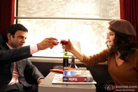 Rhehan Malliek and Preity Zinta in Ishkq In Paris Movie Stills