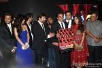 Riteish Deshmukh, Neha Sharma, Sunny Deol, Sangeeth Sivan, Dharmendra, Bobby Deol, Juhi Chawla and Subhash Ghai at Music Launch of 'Yamla Pagla Deewana 2'
