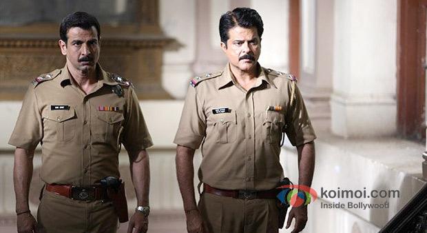 Ronit Roy And Anil Kapoor in Shootout At Wadala Movie Stills