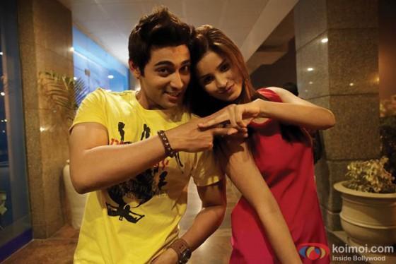 Ruslaan Mumtaz and Chetna Pande in I Don't Luv U Movie Stills