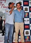 Sajid Ali and Prem Raj promote 'Ishkq in Paris'
