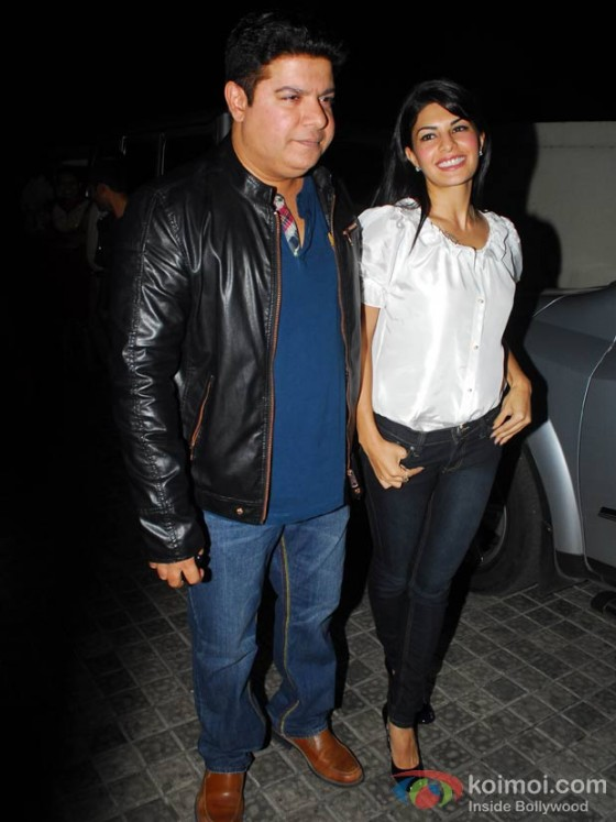 Sajid Khan and Jacqueline Fernandez