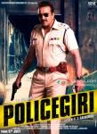 Sanjay Dutt in Policegiri Movie Poster 3