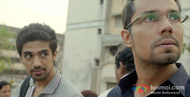 Saqib Saleem And Randeep Hooda in Bombay Talkies