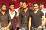 Shah Rukh Khan with KKR Team at KKR's Press Meet