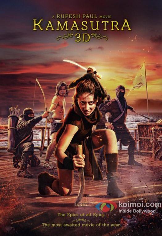 Sherlyn Chopra Starrer Kamasutra 3d Movie Poster 12