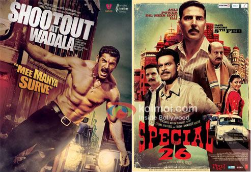 Shootout At Wadala And Special 26 Movie Poster