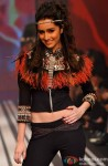 Shraddha Kapoor Walks the ramp for Malini Ramani at Lakme Fashion Week 2010
