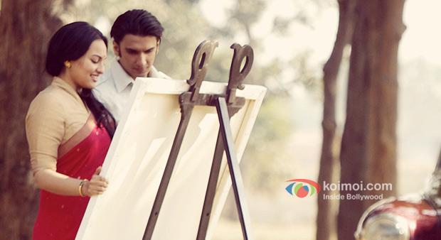 Sonakshi Sinha And Ranveer Singh in Lootera Movie Stills