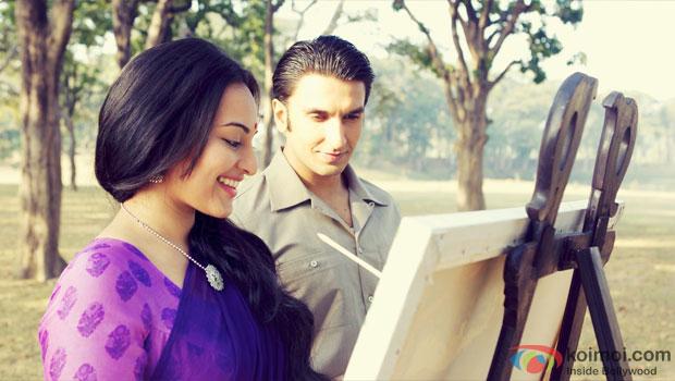 Sonakshi Sinha and Ranveer Singh in Lootera Movie Stills Pic 2