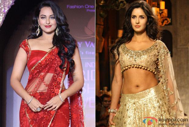 Sonakshi Sinha and Katrina Kaif