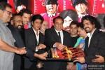 Subhash Ghai, Sangeeth Sivan, Hrithik Roshan, Shah Rukh Khan, Dharmendra and Aamir Khan at Music Launch of 'Yamla Pagla Deewana 2'