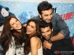 Kalki Koechlin, Deepika Padukone, Aditya Roy Kapur and Ranbir Kapoor Promote Yeh Jawaani Hai Deewani in New Delhi