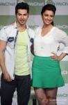 Varun Dhawan And Parineeti Chopra launch 'WeChat' Pic 1