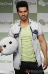 Varun Dhawan launches 'WeChat'